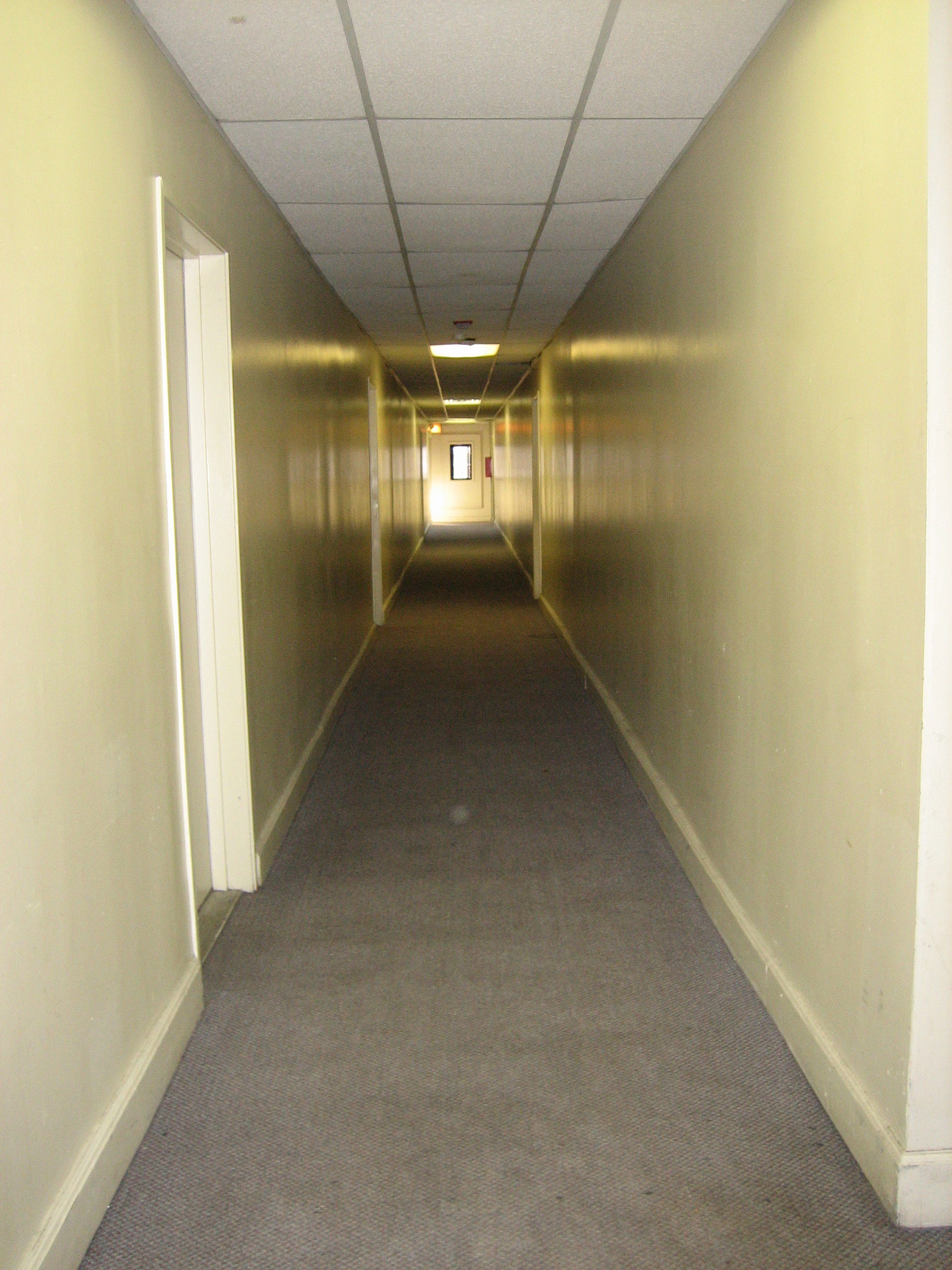 corridor in supported housing
